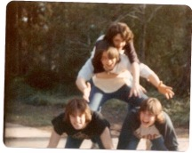 Me and my best friends. Charlotte, NC 1979-80.